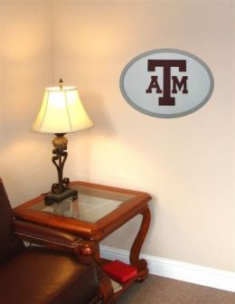 Adventure Furniture C0524-Texas A&M Texas A&M 3D Logo Wall Art- 31 inch