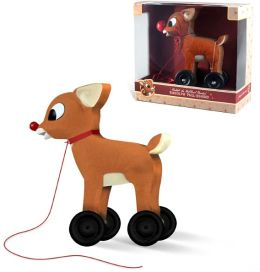 Rudolph Wooden Pull Toy
