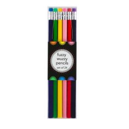 Fuzzy Wuzzy Pencils 24 Asstd