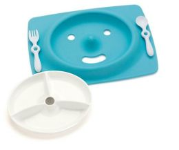 Mate Feeding Plate - Blue