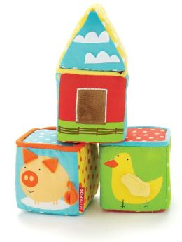 Funky Farmyard Build-A-Barn Blocks