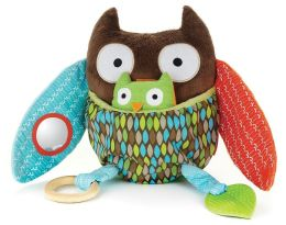 Skip Hop Treetop Friends Hug & Hide Activity Owl