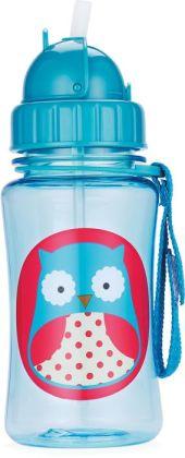Zoo straw bottle - Owl
