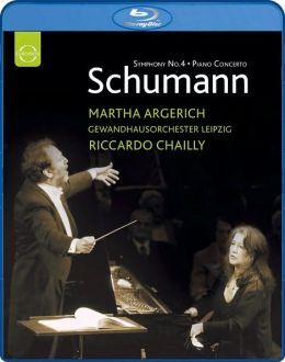 Martha Argerich: Schumann - Symphony No. 4/Piano Concerto
