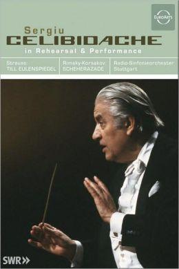 Sergiu Celibidache: In Rehearsal & Performance - Strauss/Rimsky-Korsakov