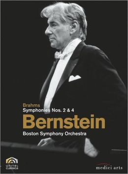 Leonard Bernstein: Brahms Symphonies Nos. 2 & 4 - Boston Symphony Orchestra
