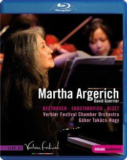 Martha Argerich: Live at Verbier Festival - Beethoven/Shostakovich/Bizet