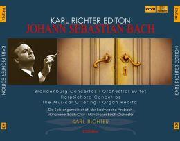 Johann Sebastian Bach: Brandenburg Concertos; Orchestral Suites; Harpsichord Concertos; The Musical Offering; Organ R