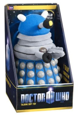 Doctor Who: Talking Plush: Med (appx 9''): Dalek (Blue)