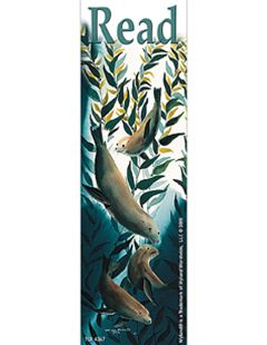 TEACHER CREATED RESOURCES TCR4367 WY SEA LION KELP FOREST BOOKMARKS