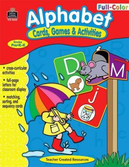 Alphabet Cards, Games & Activities