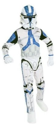 Star Wars Clone Trooper Child Costume: Size Small (4-6)