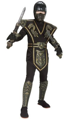 Ancient Dynasty Ninja Child Costume: Size Small (4-6)
