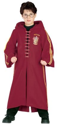 Harry Potter  Quidditch Robe Super Deluxe Child Costume: Size Small