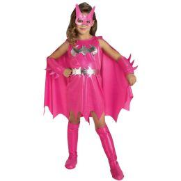 Pink Batgirl Child Costume: Size Medium (8-10)