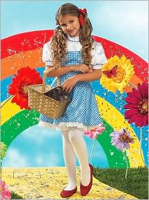 The Wizard of Oz Dorothy Child Costume: Size Small (4-6)