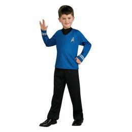 Star Trek Movie (Blue) Shirt Child Costume: Size Small
