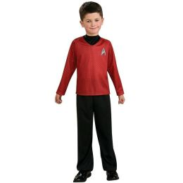 Star Trek Movie (Red) Shirt Child Costume: Size Small