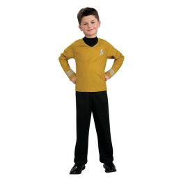 Star Trek Movie (Gold) Shirt Child Costume: Size Medium