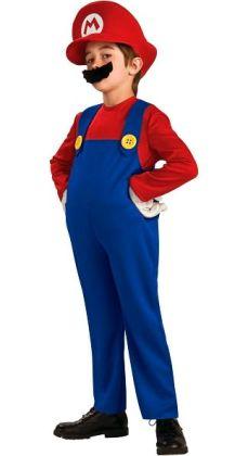 Super Mario Bros. - Mario Deluxe Child Costume: Size Small (4/6)