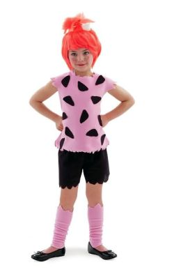 Flintstones Pebbles Child Costume: Size Small (4/6)