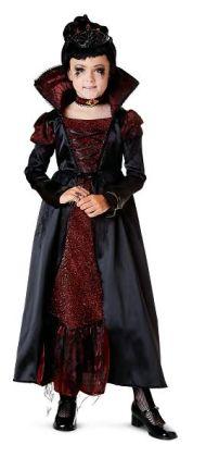 Transylvanian Vampiress Child Costume: Size Medium (8-10)