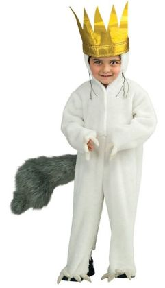 Where The Wild Things Are - Max Deluxe Toddler / Child Costume: Large