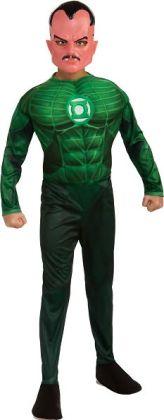 Green Lantern - Sinestro Muscle Child Costume: Medium