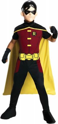 Young Justice - Robin Child Costume: Medium