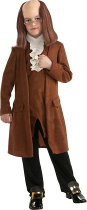 Benjamin Franklin Child Costume: Small