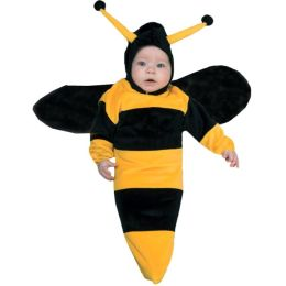 Bumble Bee Bunting Infant Costume: Size Newborn - 9 Months