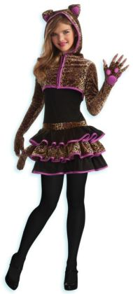 Leopard Tween Costume: Tween Medium