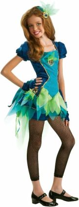 Peacock Tween Costume: Tween Small