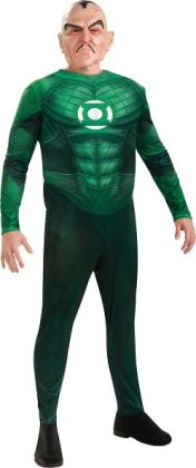 Green Lantern Movie - Deluxe Sinestro Adult Costume: Large