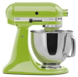 KitchenAid® KSM150PSGA Artisan® Series 5-Quart Tilt-Head Stand Mixer, Green Apple