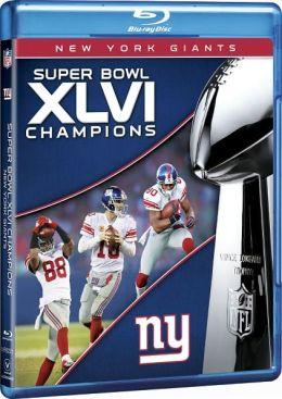 NFL: Super Bowl XLVI Champions - New York Giants