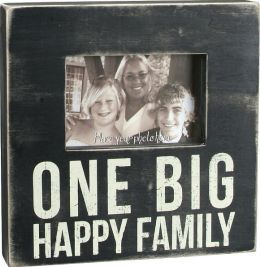 Big Happy Family Box Frame 4x6