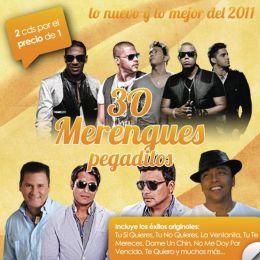 30 Merengues Pegaditos: Lo Nuevo Y Lo Mejor 2011