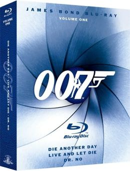 James Bond Blu-ray Volume 1