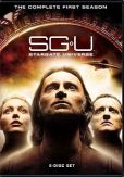 Video/DVD. Title: Stargate Universe: the Complete First Season