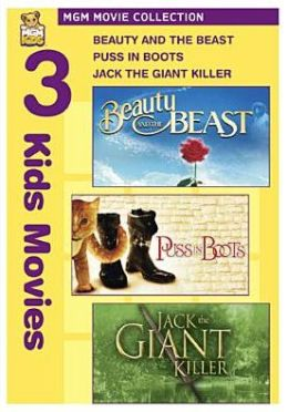 Beauty and the Beast/Puss in Boots/Jack the Giant Killer