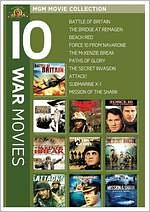 Mgm Movie Collection: 10 War Movies