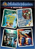 Phantom from 10000 Leagues/Beast with a Million Eyes/War Gods of the Deep/at the Earth's Core