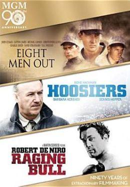 Eight Men Out/Hoosiers/Raging Bull