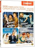 Video/DVD. Title: Comedy - TCM Greatest Classic Films Collection