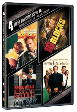 Bruce Willis Collection: 4 Film Favorites