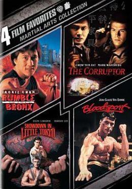 Martial Arts Collection: 4 Film Favorites