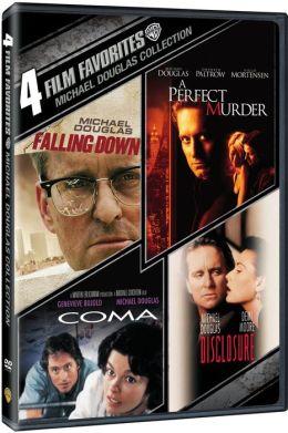 Michael Douglas Collection: 4 Film Favorites