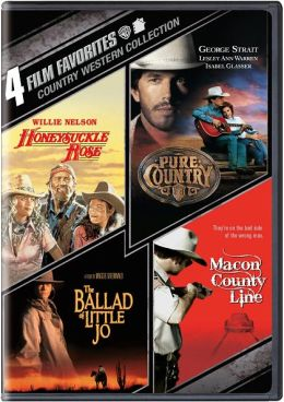 Country Western Collection: 4 Film Favorites