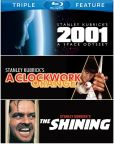 Video/DVD. Title: 2001: a Space Odyssey/a Clockwork Orange/the Shining